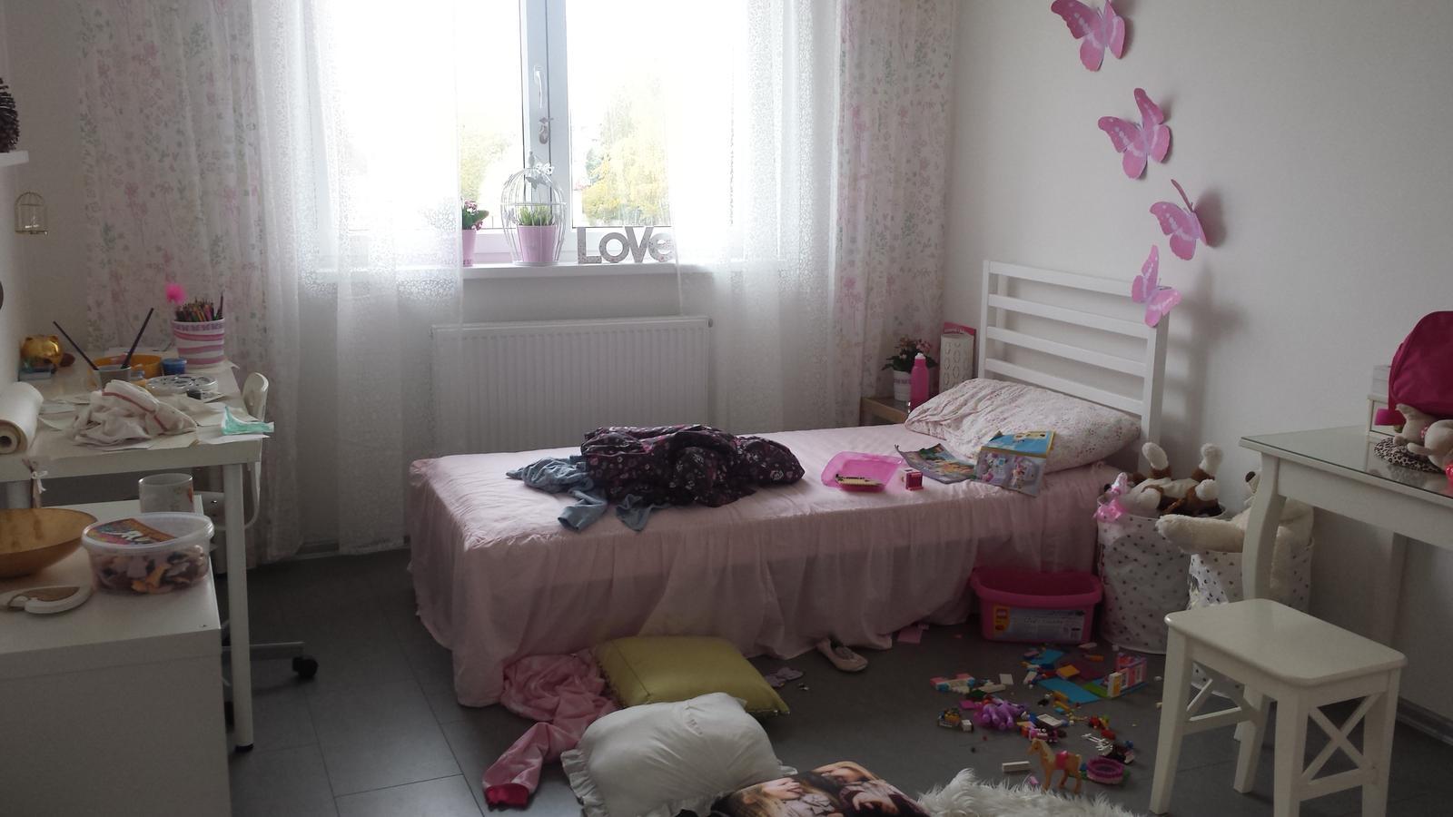 Náš šedý sen :) - Pokoj male holčičky :-D