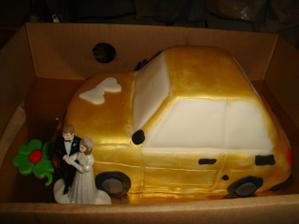 fiatkárska svadobná torta:-)