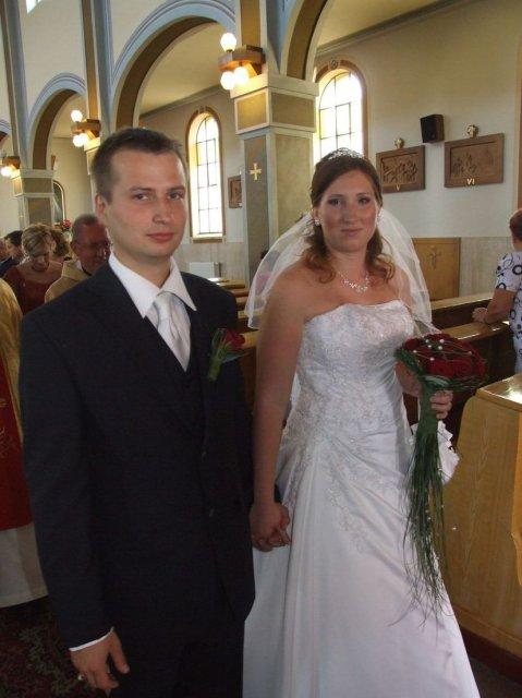 Stanka Nerádová{{_AND_}}Martin Škrátek - už sme manželia:-)