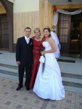 foto so ženíchovou sestrou