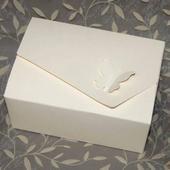 Krabičky na výslužku s motýlkem,
