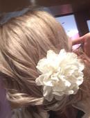 Kvet do vlasov pre nevestu,