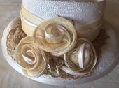 Elegantny klobuk na slavnostnu prilezitost, M