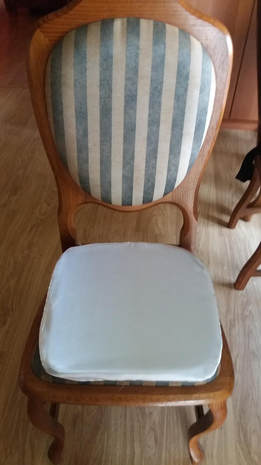 Pronájem- Podsedáky na svatební židle - Obrázek č. 1