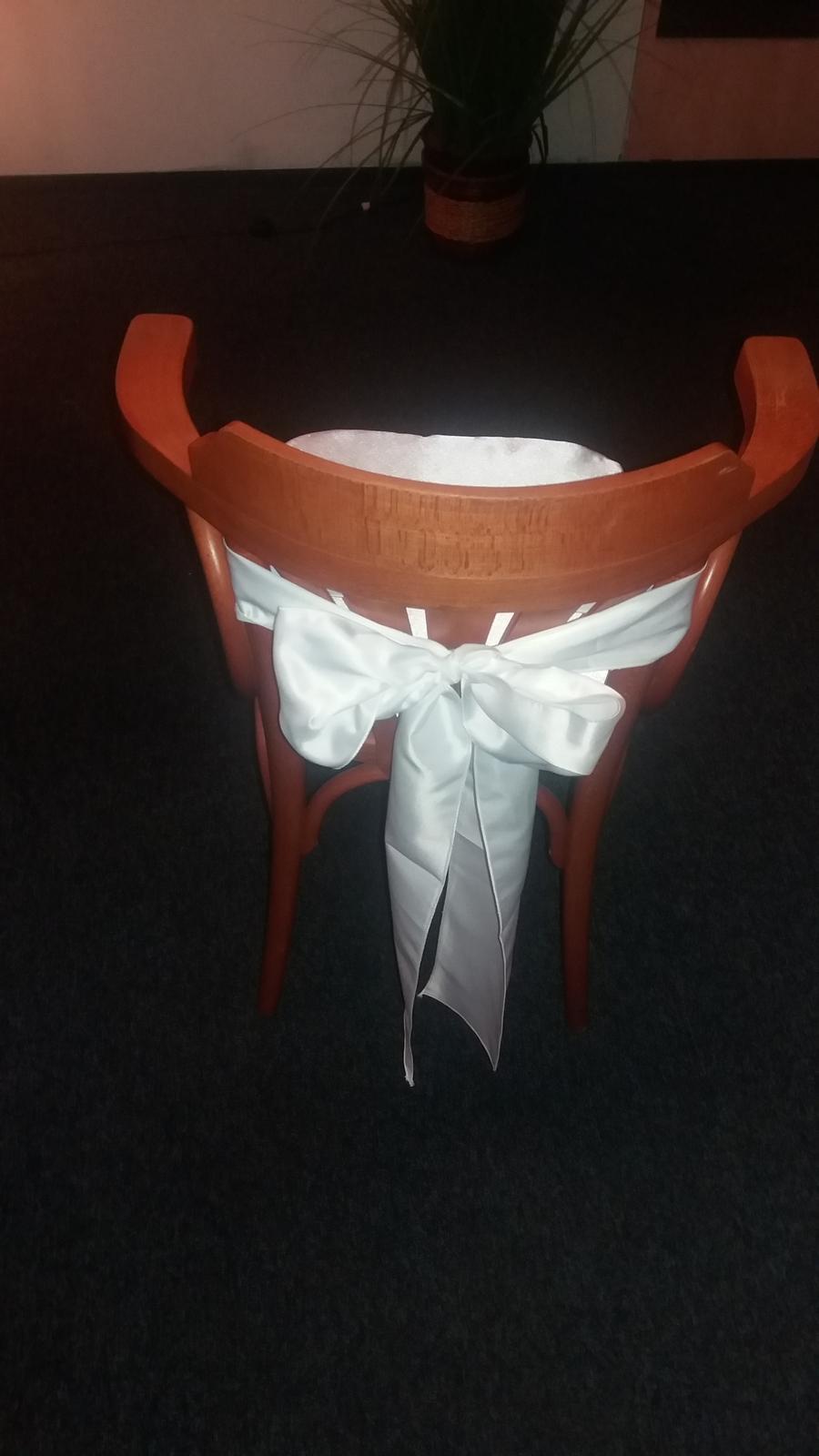 Pronájem- Podsedáky na svatební židle - Obrázek č. 2