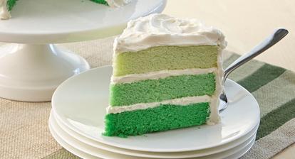 Vnitřek dortu. :)