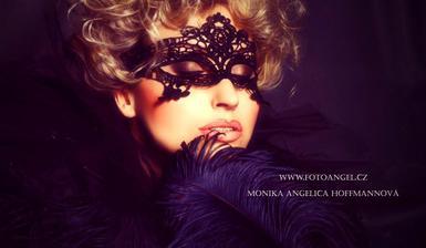 Makeup a česání se zhostí také profesionálka Lidunka Škvorová