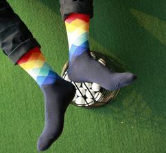 Ponožky pro ženicha, svědka a družby :)
