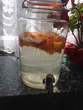Moje krásná Kilner nádoba na limču, je úúúúúžasná :)