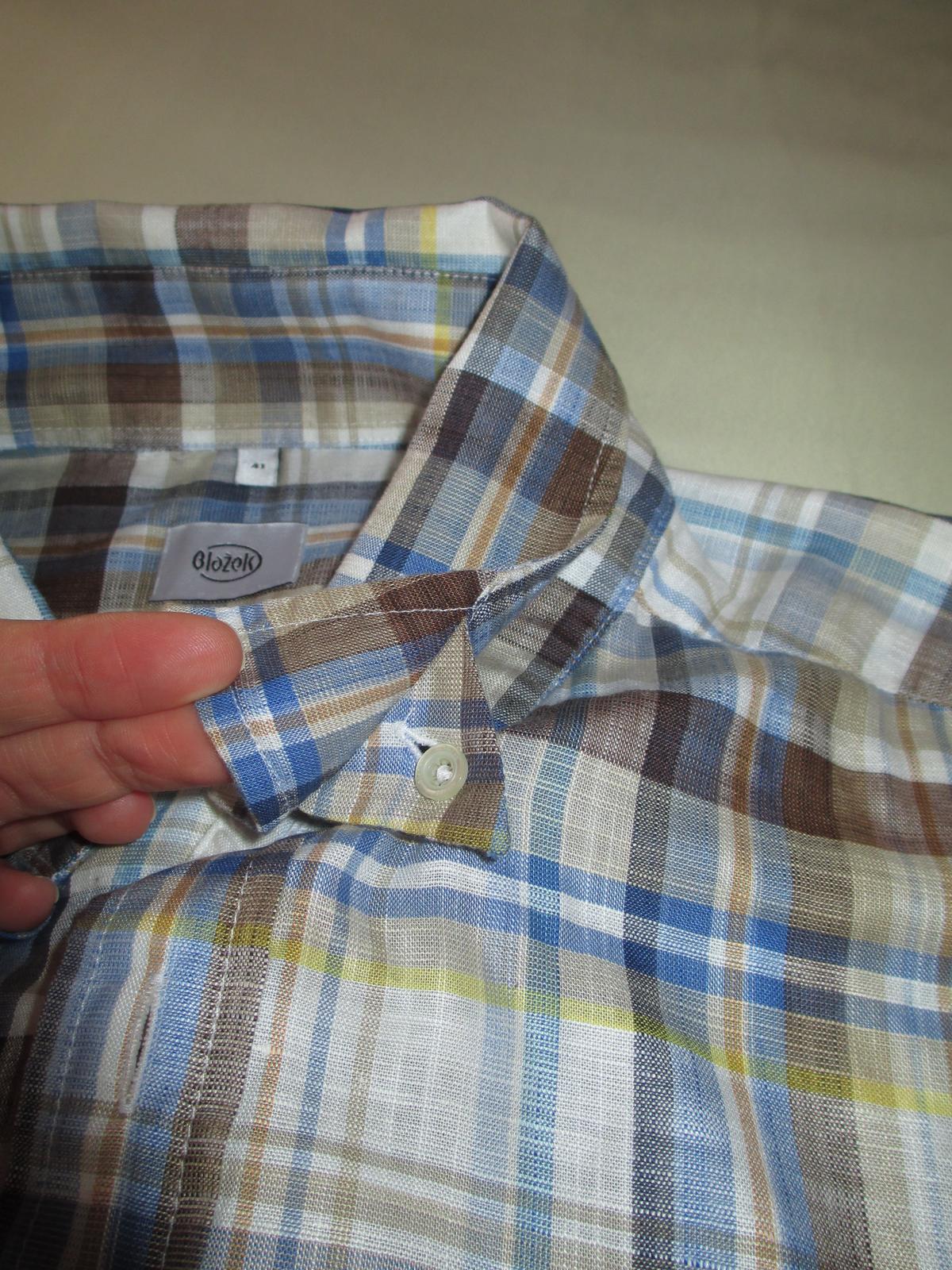 Kostkovaná košile Blažek - Obrázek č. 3