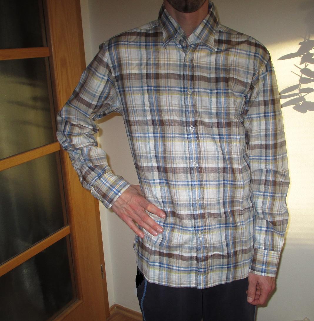 Kostkovaná košile Blažek - Obrázek č. 1