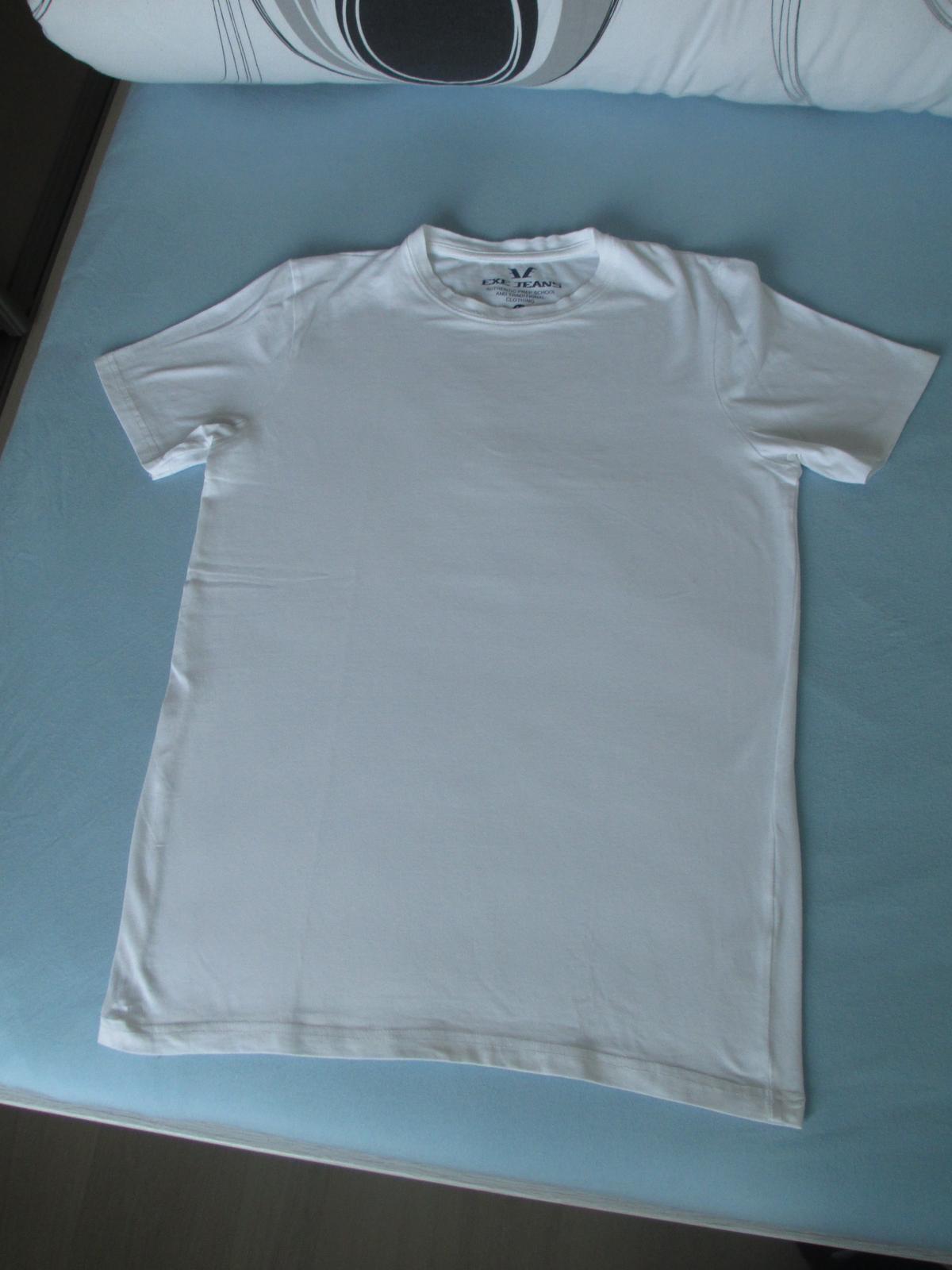 Klasické bílé tričko - Obrázek č. 1