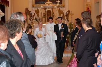 Novomanželia Bystričanoví