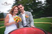 svatební kytice - barevná,