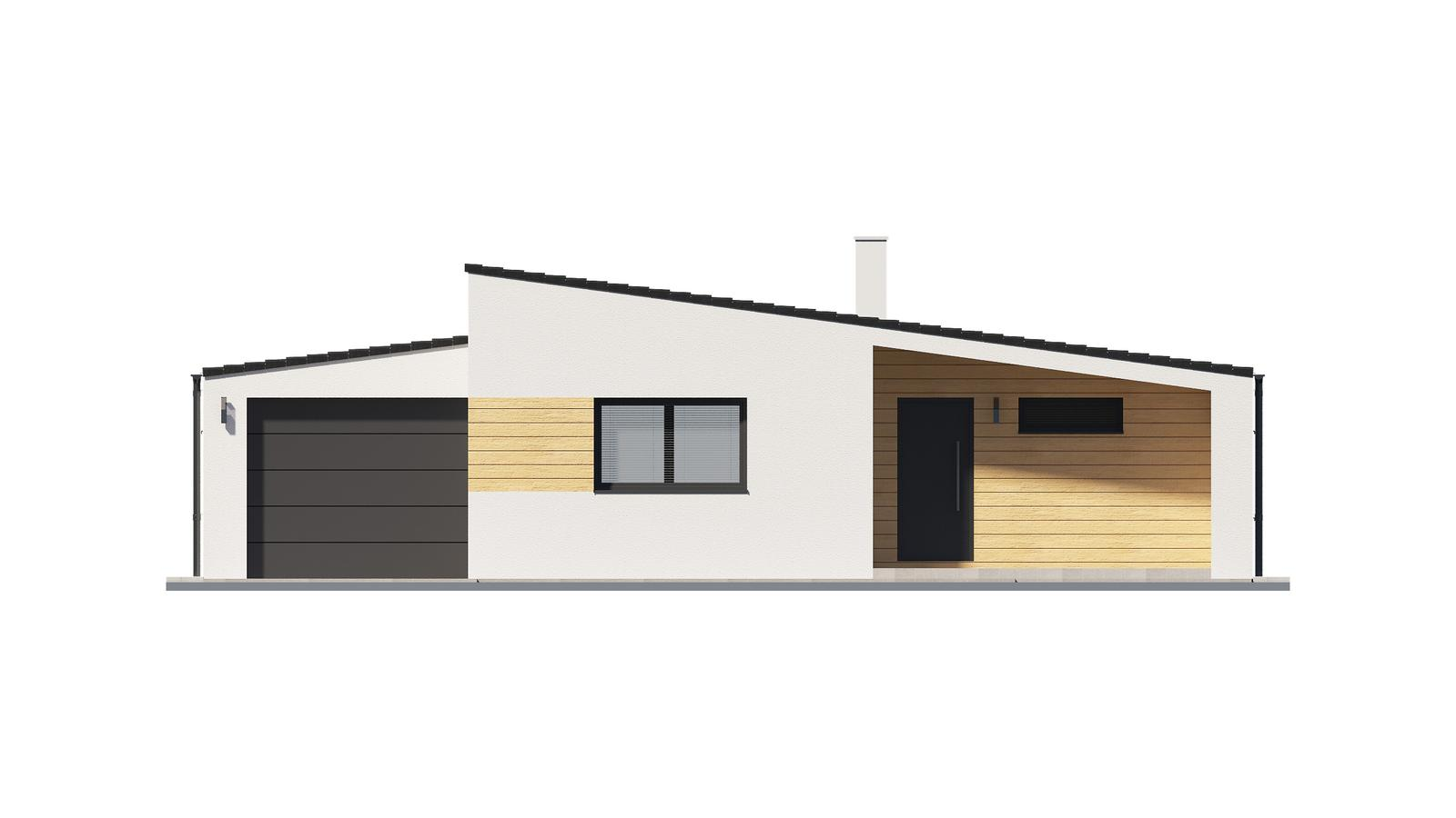 Ďalšie ukážky návrhov domčekov pre Vás - www.rodinny-dom.eu - Obrázok č. 1