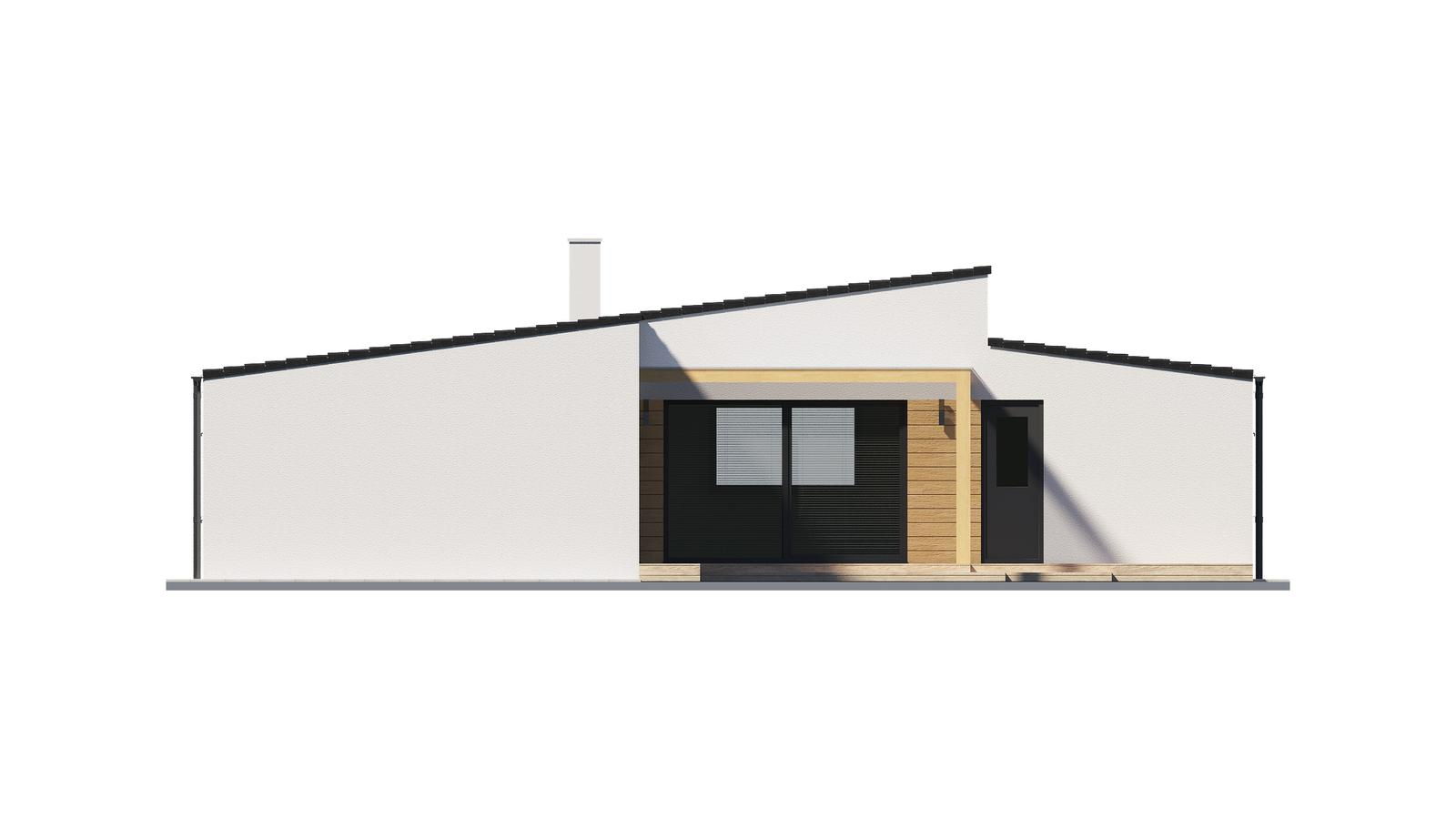 Ďalšie ukážky návrhov domčekov pre Vás - www.rodinny-dom.eu - Obrázok č. 3