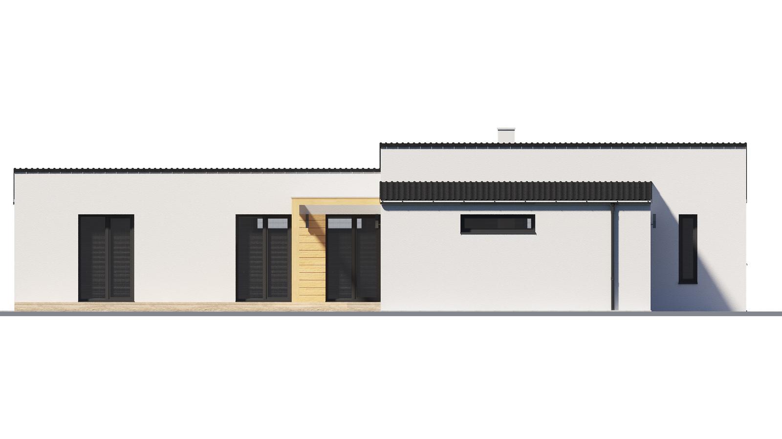 Ďalšie ukážky návrhov domčekov pre Vás - www.rodinny-dom.eu - Obrázok č. 4