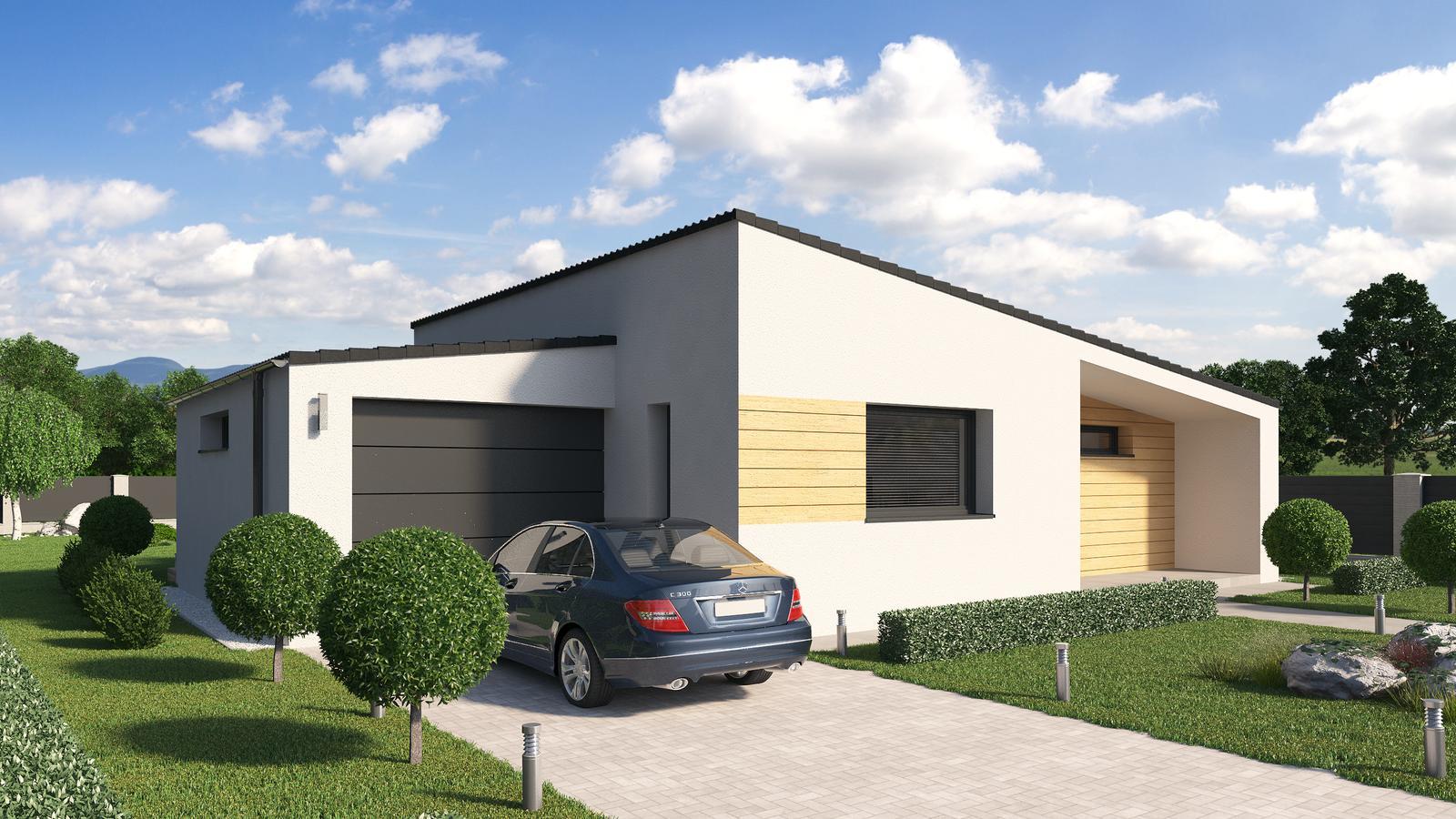 Ďalšie ukážky návrhov domčekov pre Vás - www.rodinny-dom.eu - Obrázok č. 5