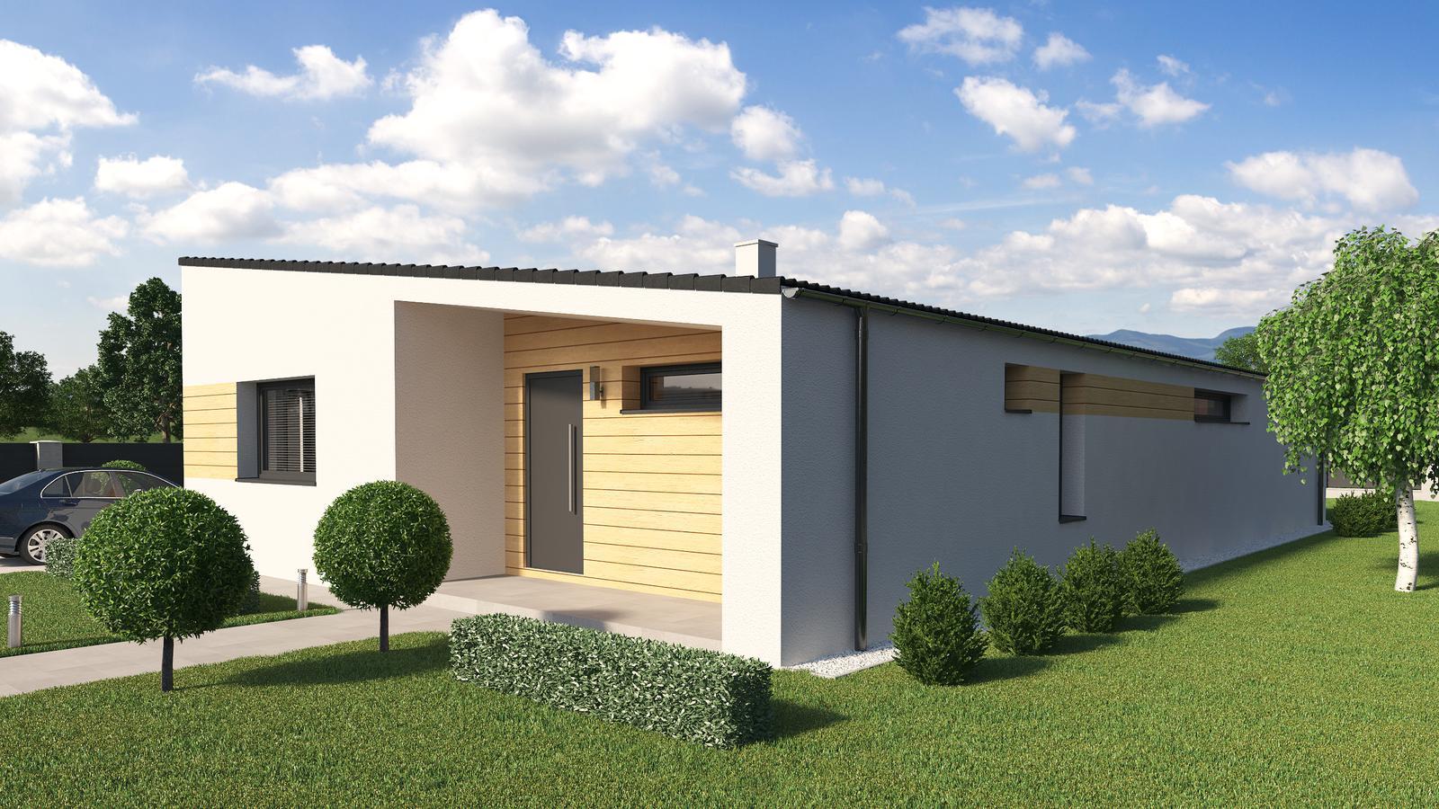Ďalšie ukážky návrhov domčekov pre Vás - www.rodinny-dom.eu - Obrázok č. 6