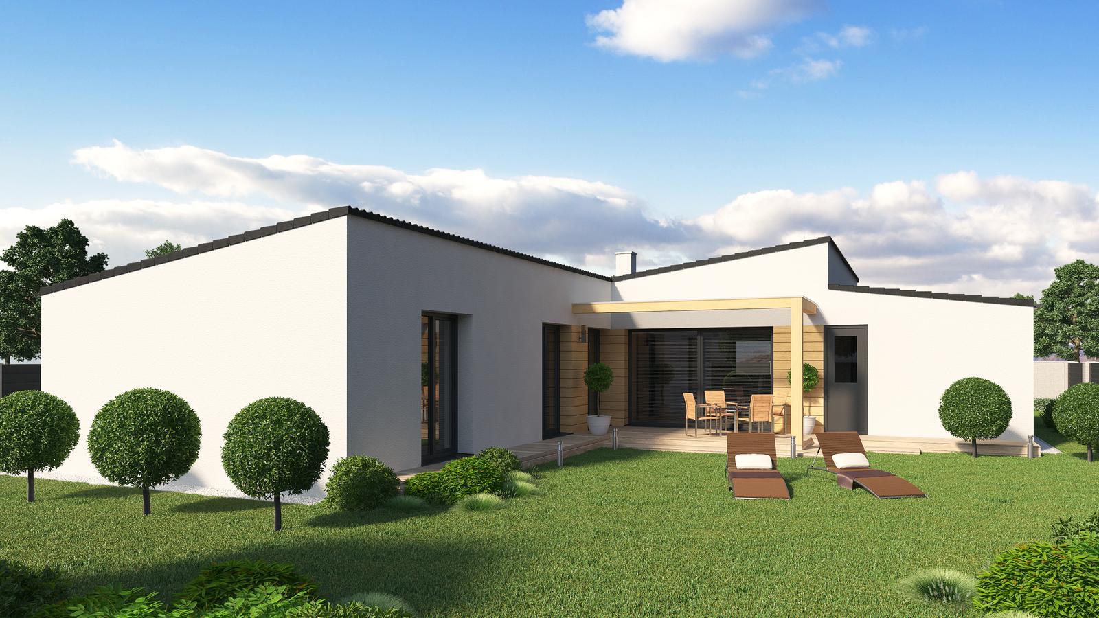 Ďalšie ukážky návrhov domčekov pre Vás - www.rodinny-dom.eu - Obrázok č. 7