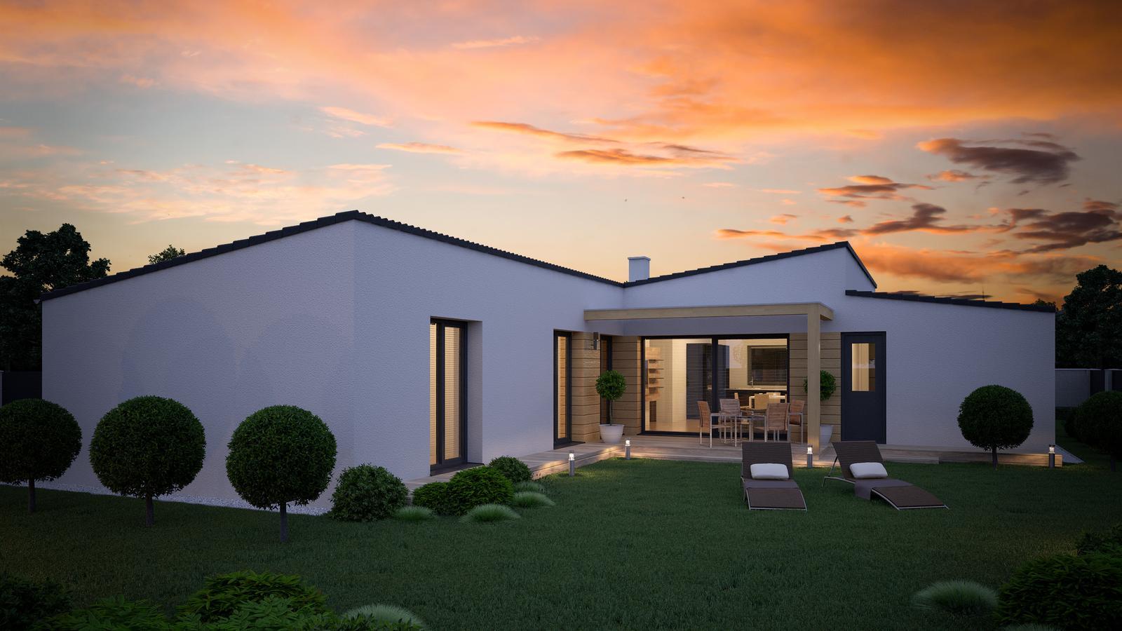 Ďalšie ukážky návrhov domčekov pre Vás - www.rodinny-dom.eu - Obrázok č. 9