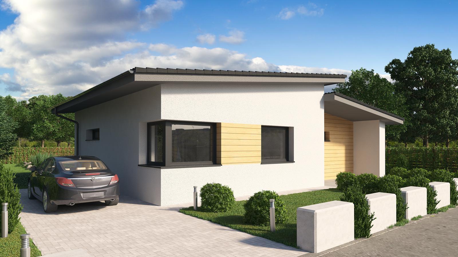 Ďalšie ukážky návrhov domčekov pre Vás - www.rodinny-dom.eu - Obrázok č. 14