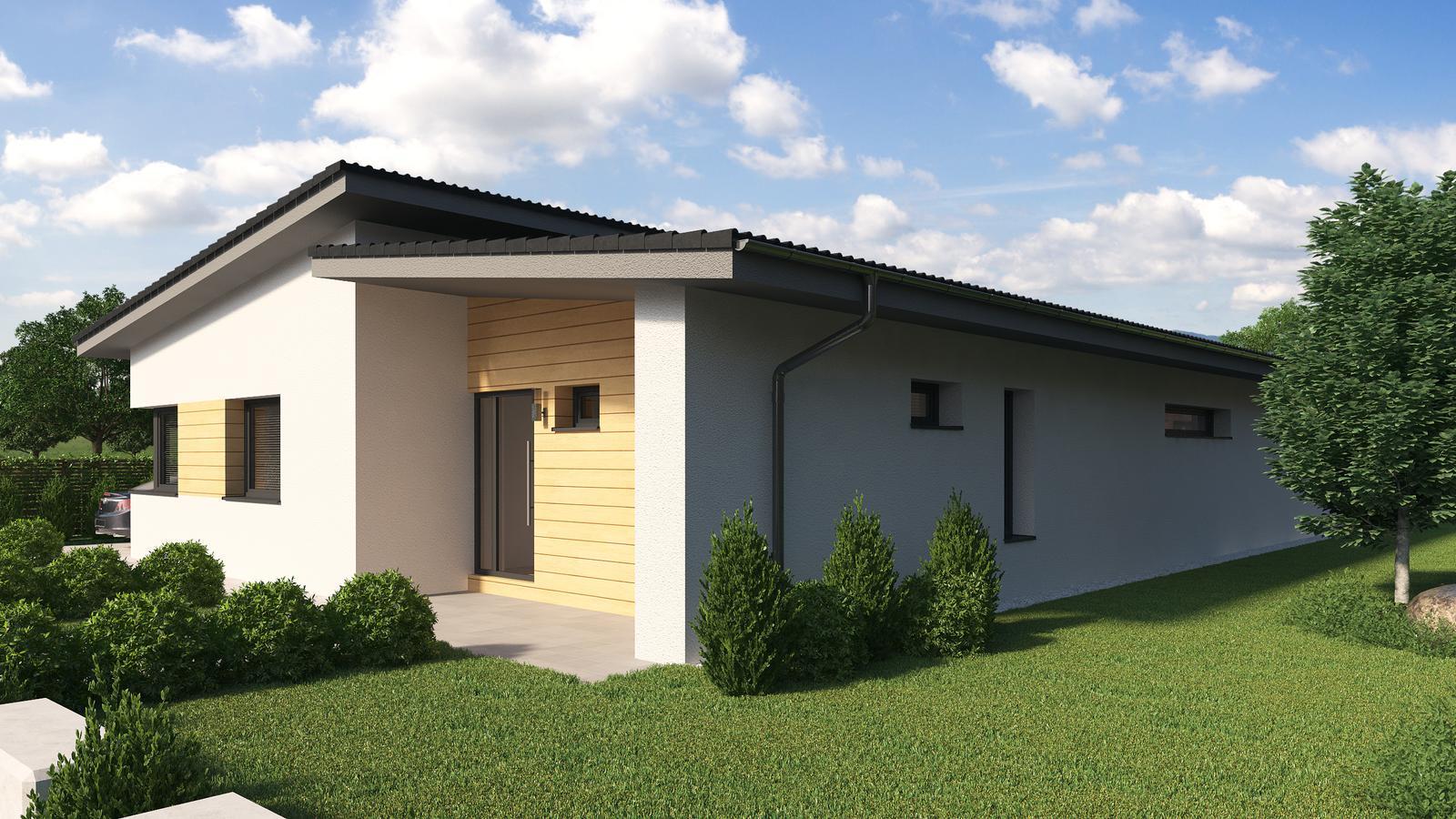 Ďalšie ukážky návrhov domčekov pre Vás - www.rodinny-dom.eu - Obrázok č. 15