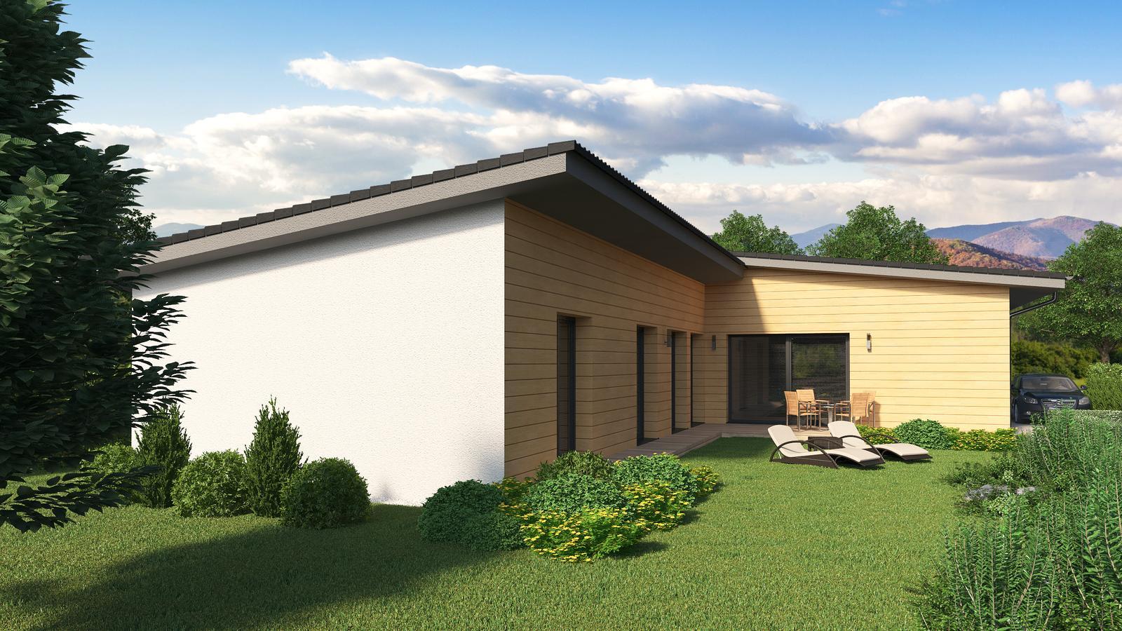 Ďalšie ukážky návrhov domčekov pre Vás - www.rodinny-dom.eu - Obrázok č. 16