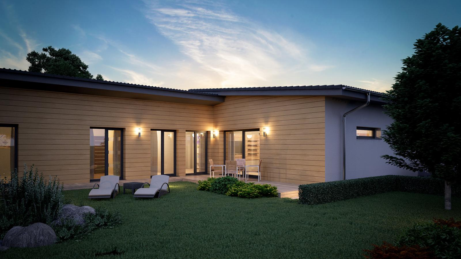 Ďalšie ukážky návrhov domčekov pre Vás - www.rodinny-dom.eu - Obrázok č. 18