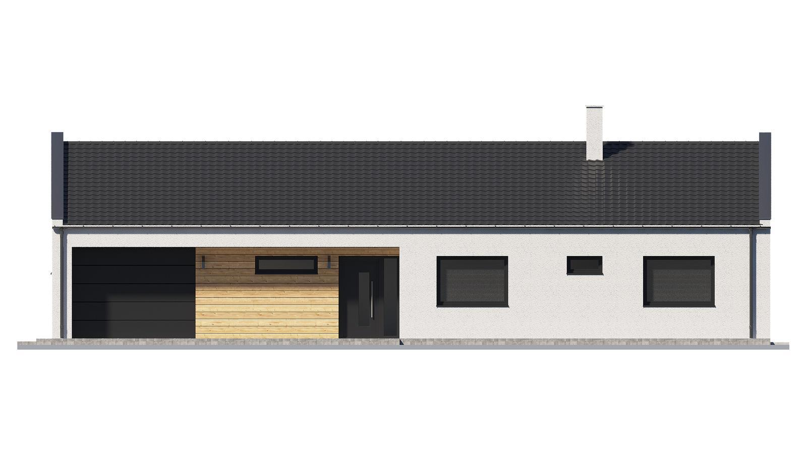 Ďalšie ukážky návrhov domčekov pre Vás - www.rodinny-dom.eu - Obrázok č. 19