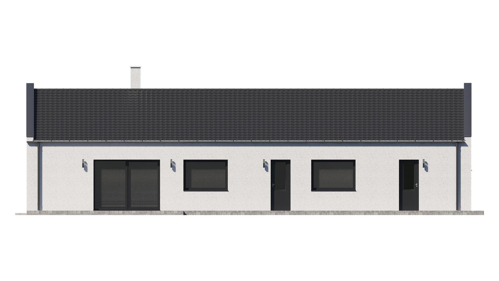 Ďalšie ukážky návrhov domčekov pre Vás - www.rodinny-dom.eu - Obrázok č. 21