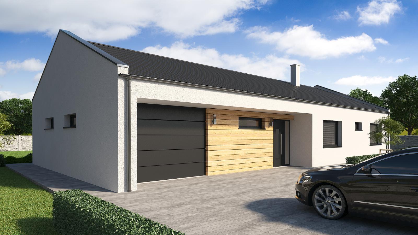 Ďalšie ukážky návrhov domčekov pre Vás - www.rodinny-dom.eu - Obrázok č. 23