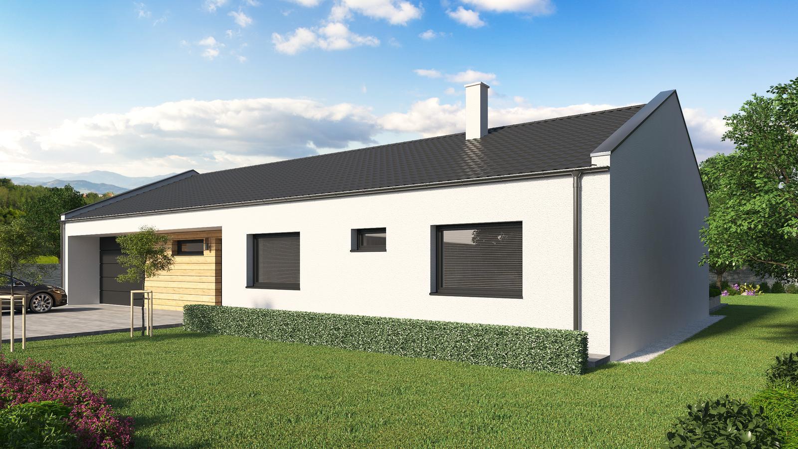 Ďalšie ukážky návrhov domčekov pre Vás - www.rodinny-dom.eu - Obrázok č. 24