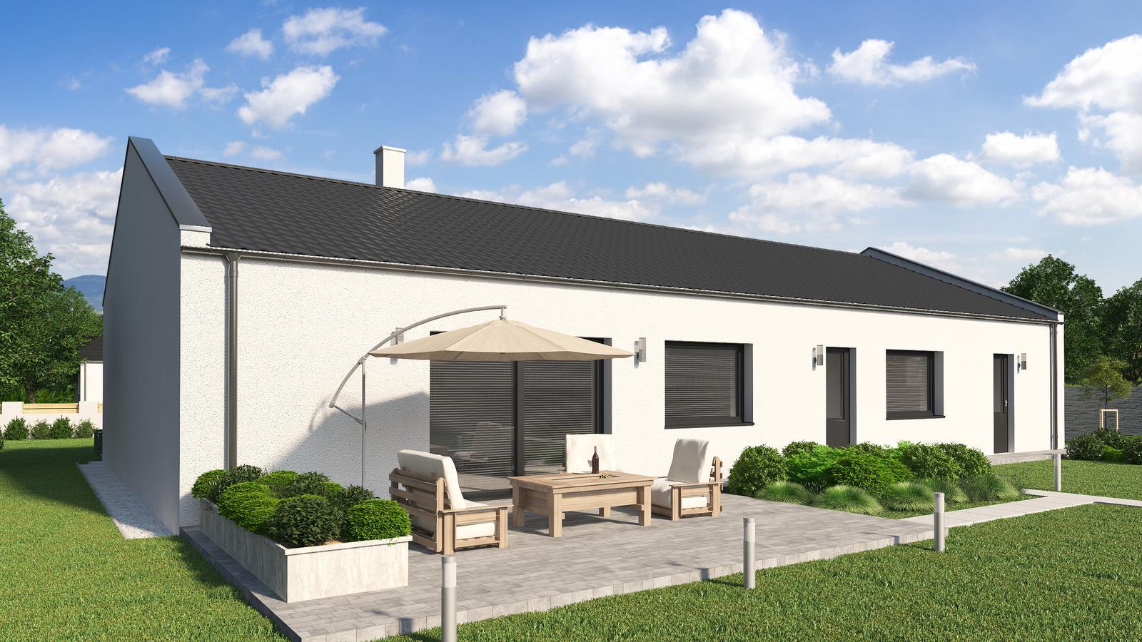 Ďalšie ukážky návrhov domčekov pre Vás - www.rodinny-dom.eu - Obrázok č. 25