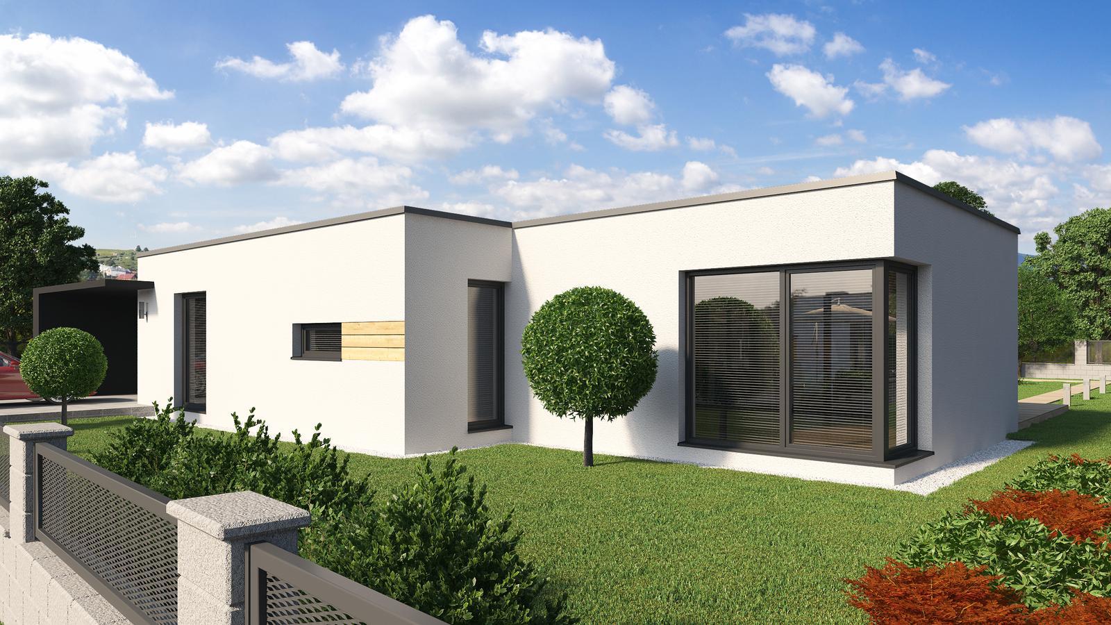 Ďalšie ukážky návrhov domčekov pre Vás - www.rodinny-dom.eu - Obrázok č. 33
