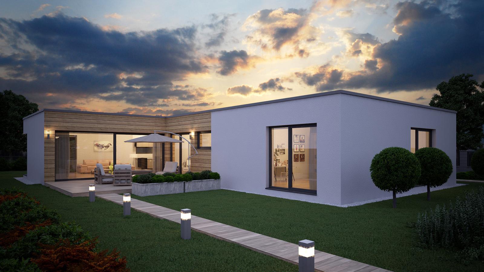 Ďalšie ukážky návrhov domčekov pre Vás - www.rodinny-dom.eu - Obrázok č. 36
