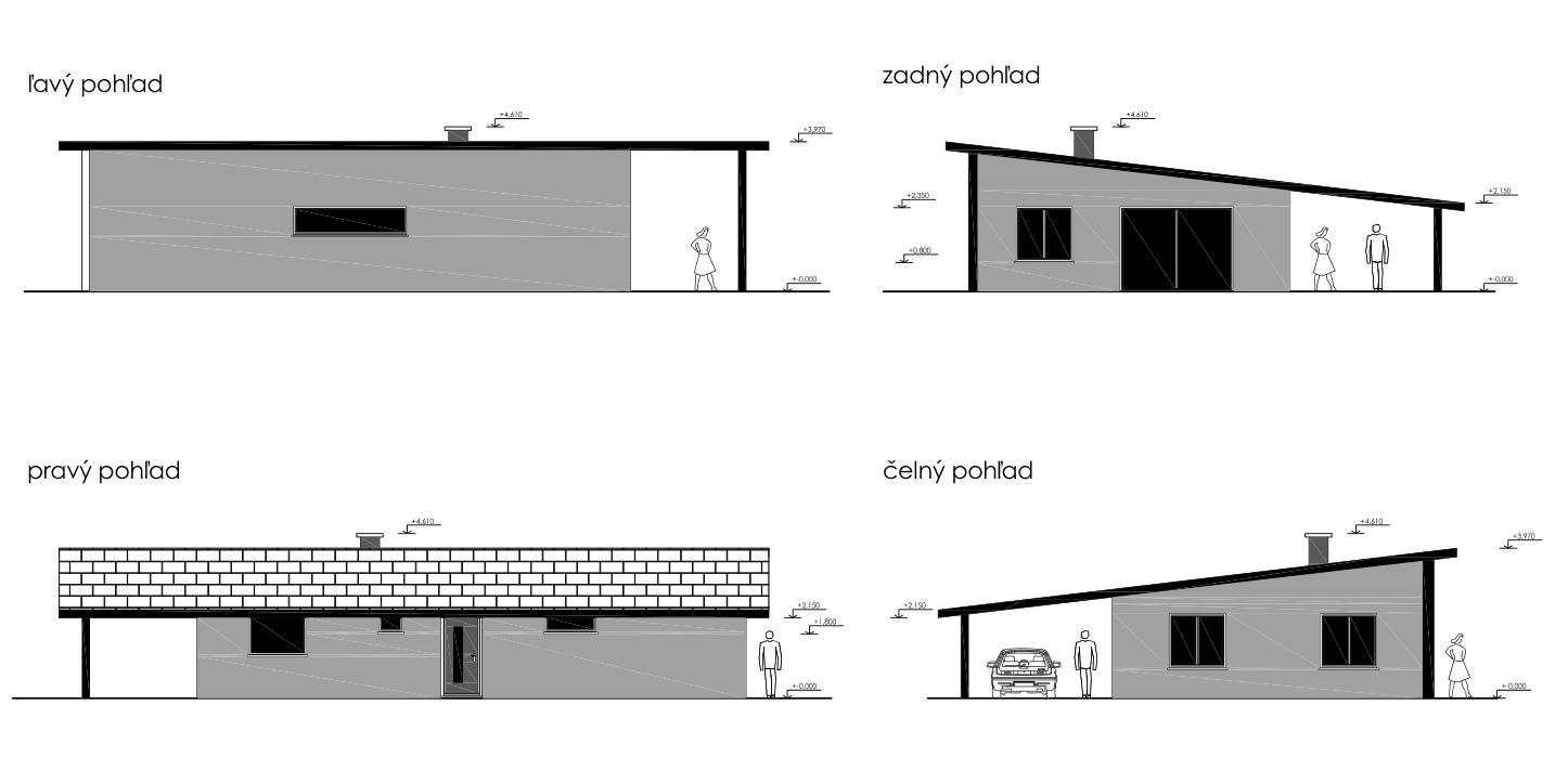Nový projekt drevodomu pre rodinu - Obrázok č. 2