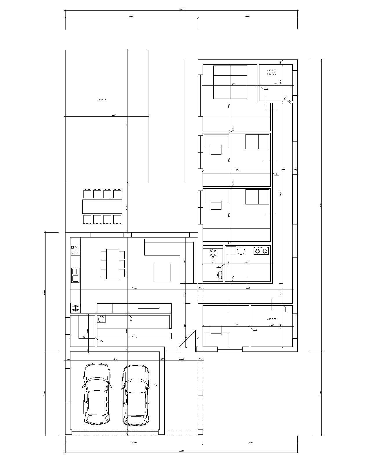 L-ko s garážou pred domom - Obrázok č. 1