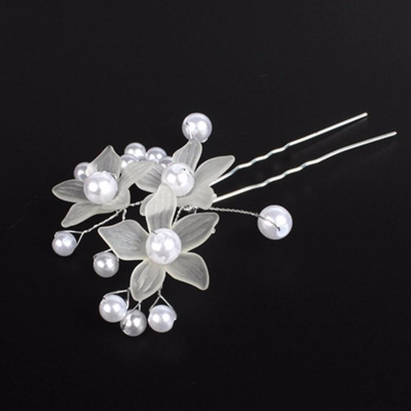Výnimočná vlásenka s kvetinkami a perličkami  - Obrázok č. 3