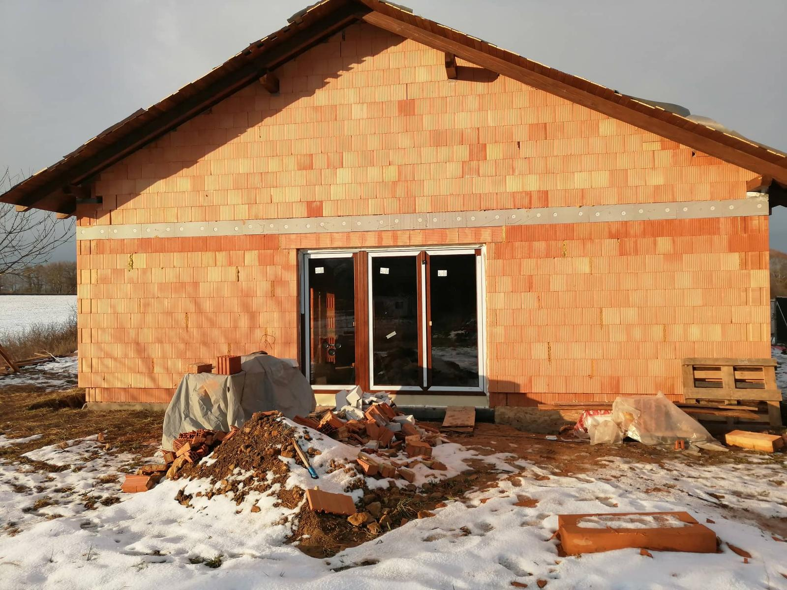 Náš vysněný domov :-) - a ze stavby je baráček :-)