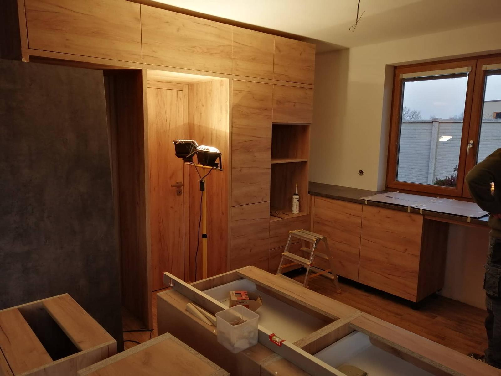 Náš vysněný domov :-) - kuchyň už se rýsuje :-) :-) jsme nadšení