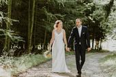 Boho svatební šaty, 38