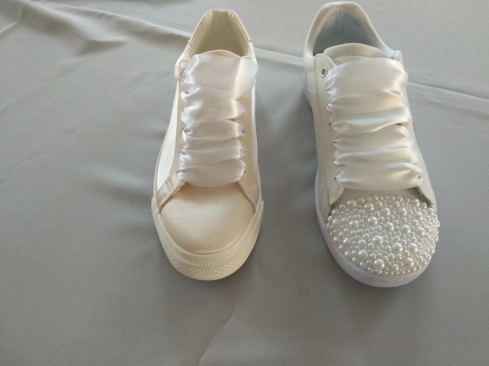 P&M prípravy - Kedže nechcem vysoké podpätky, budú tenisky. Neviem sa však rozhodnúť, ktoré?