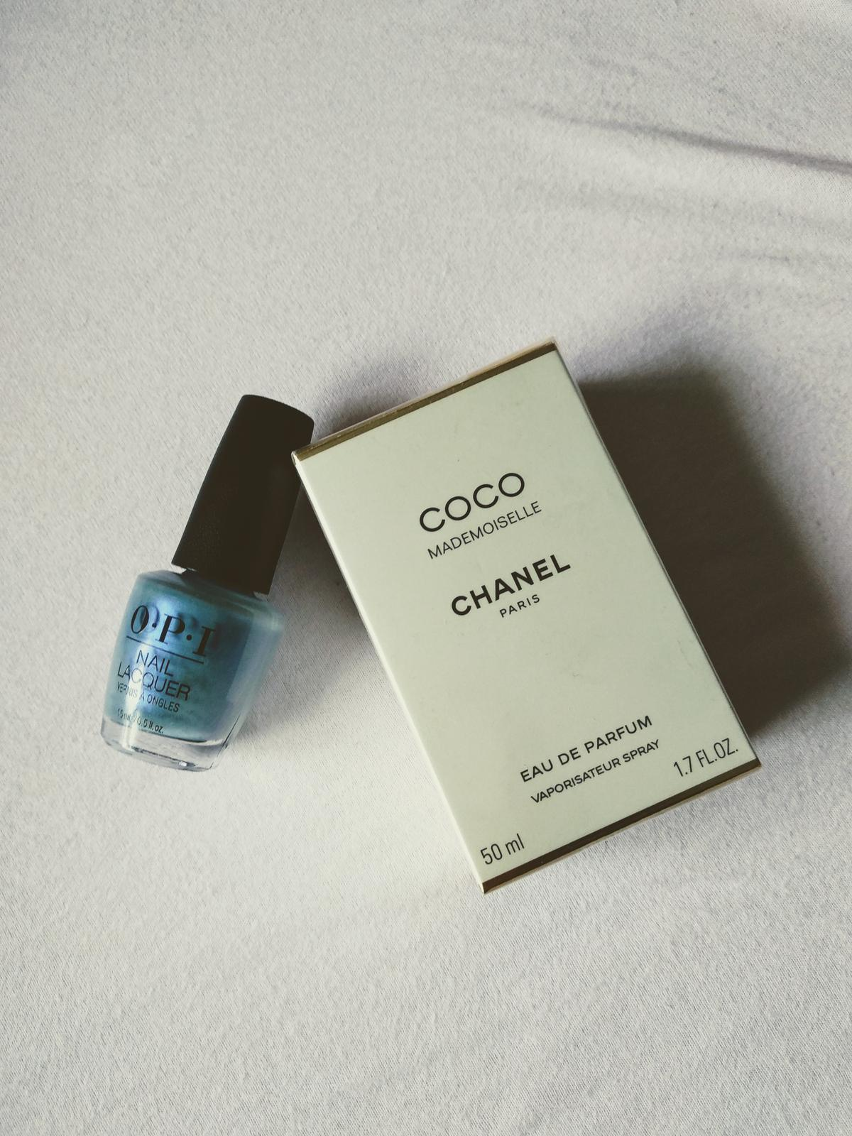 P&M prípravy - Niečo modré na nôžky a môj najobľúbenejší parfém