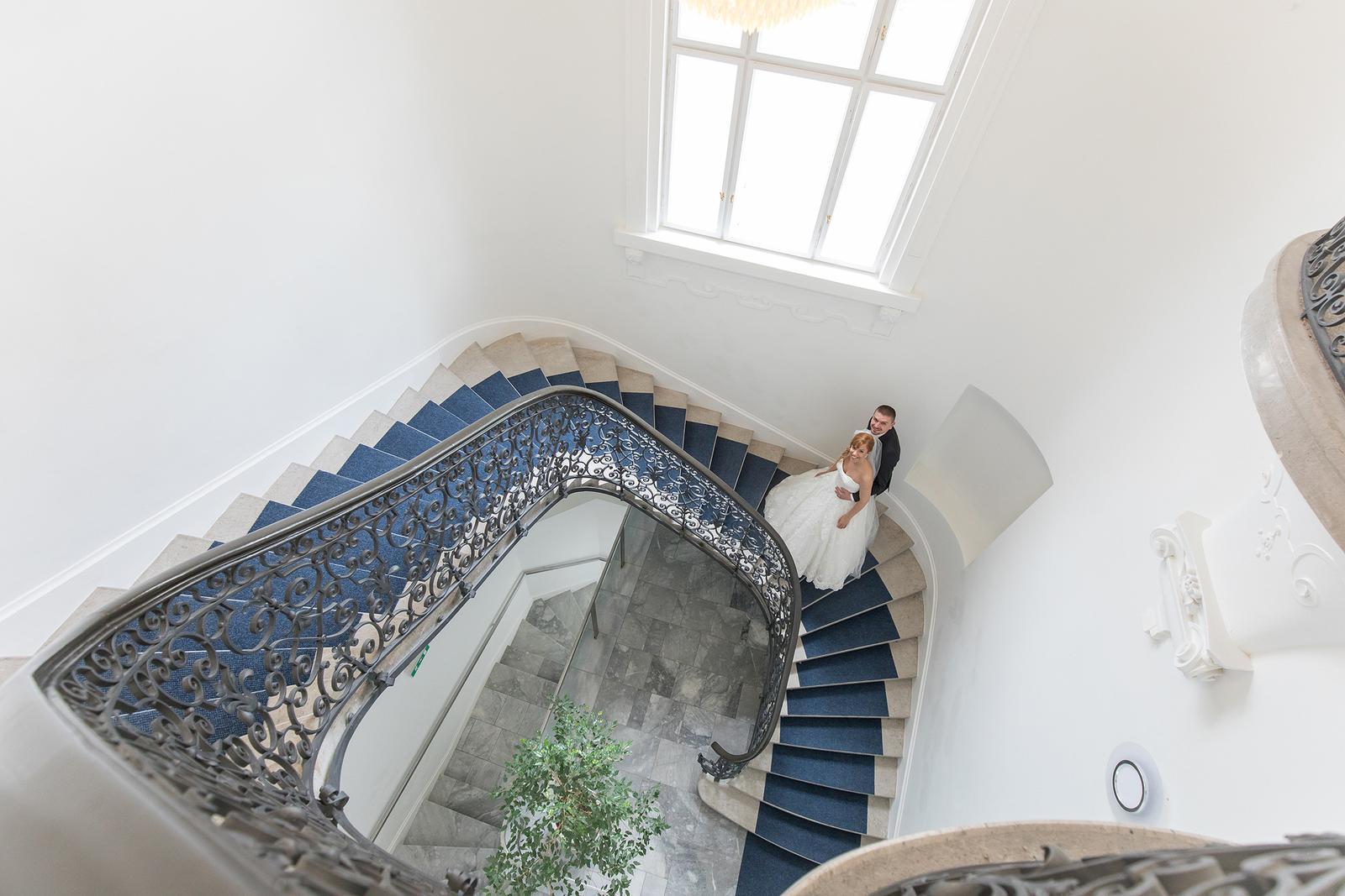 pavolpiroha - schody v Budmericiach ma vždy fascinovali