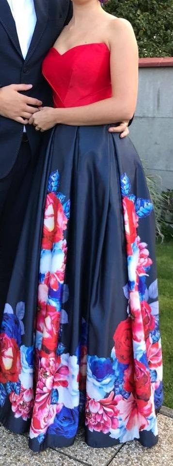 Dlhé spoločenské šaty - Obrázok č. 1