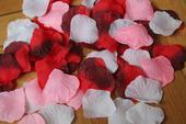 Směs okvětních plátků růží ,