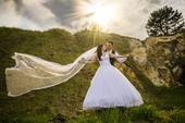 Svatební šaty vel 36 - 42, 38