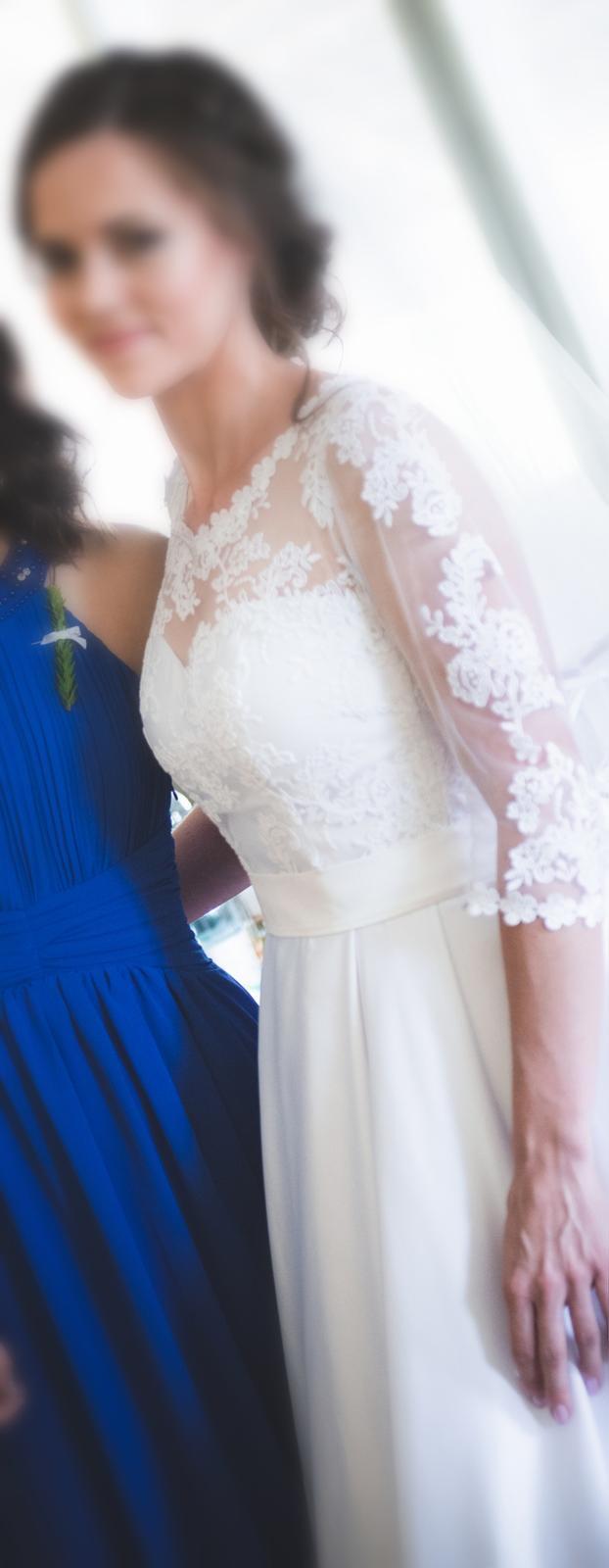 Svatební šaty vel. 38 - Obrázek č. 2
