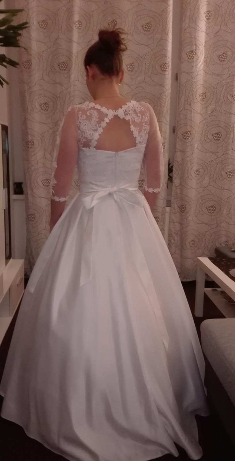 Svatební šaty vel. 38 - Obrázek č. 3